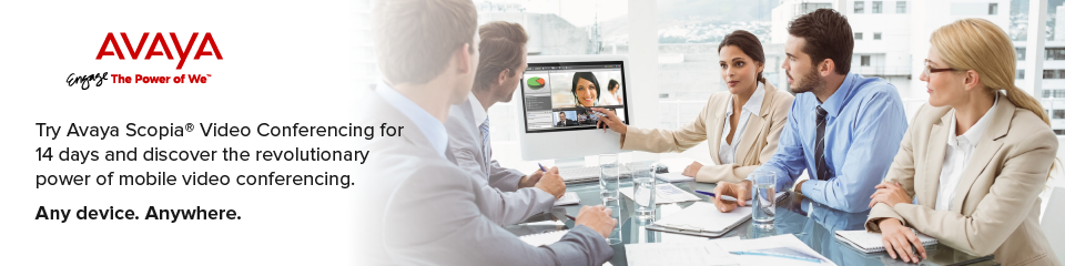 Avaya Scopia Video Conference 14 Day Trial